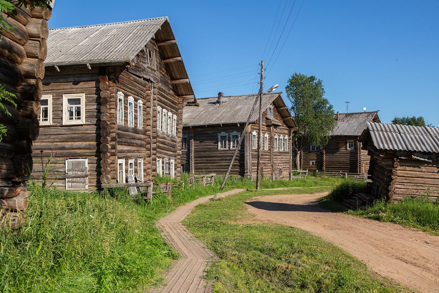 По северным деревням